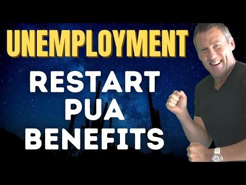 RESTART PUA UNEMPLOYMENT BENEFITS! SSI UPDATE Job Numbers Un