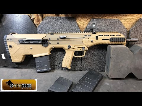 Desert Tech Mdr Bullpup Review Youtube