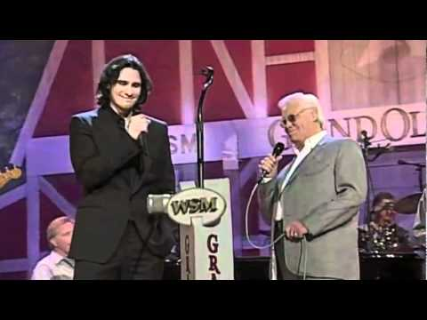 George Jones & Joe Nichols - _Yesterday's Wine_ On Opry Live.flv