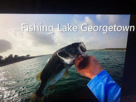 Fishing Lake Georgetown 6/27/20