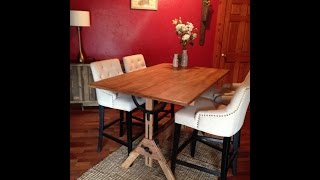 Video Refinishing a Drafting Table and Repurposing as a Dining Room Table download MP3, MP4, WEBM, AVI, FLV April 2018