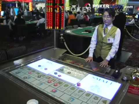 Learn To Play Sic Bo - 2008 APPT Macau