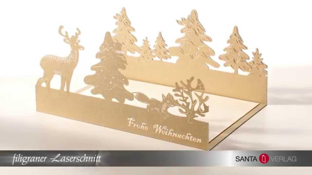 Weihnachtskarten Verlag.Santa Verlag Eindrucksvolle Weihnachtskarten