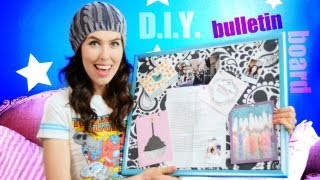 ♥ D.I.Y. ♥ Fabric Bulletin Board! Thumbnail