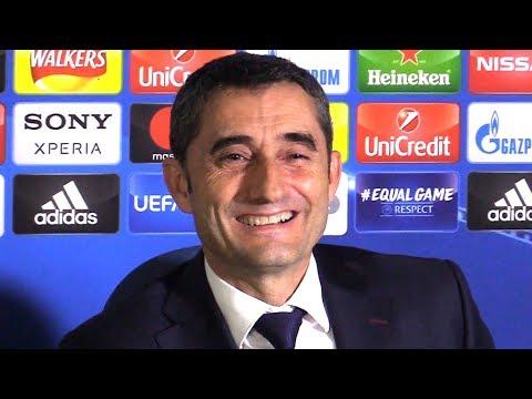 Chelsea 1-1 Barcelona - Ernesto Valverde Full Post Match Press Conference - Champions League