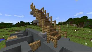 Красивые лестницы в майнкрафт - Как сделать?(, 2014-12-11T17:36:50.000Z)