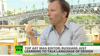 Talking design: editor of Wallpaper mag on eudcating Russians(If you want to know who the up-and-coming stars are on the design scene here in Moscow, you need look no further than Wallpaper Magazine. The glossy is ..., 2012-07-31T18:17:07.000Z)