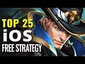 Top 25 Best FREE iOS Strategy Games