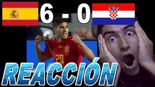 España 6  - 0 Croacia - ¡REACCIÓN! - Liga de las Naciones de la UEFA 2018-19