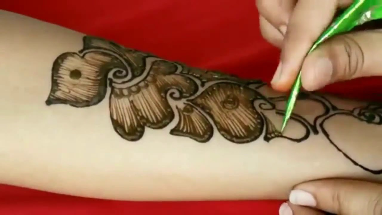 Attractive Arabic Henna Mehndi Design For Hands Easy And