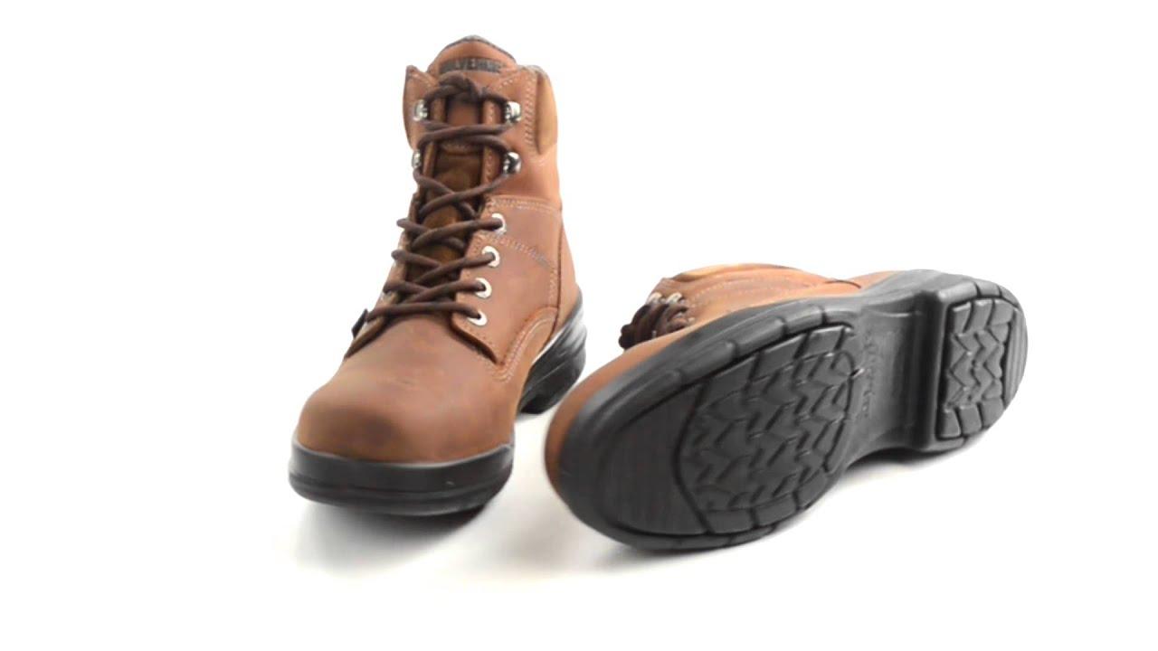 Wolverine DuraShocks Slip-Resistant Work Boots - Steel Toe, 6 ...