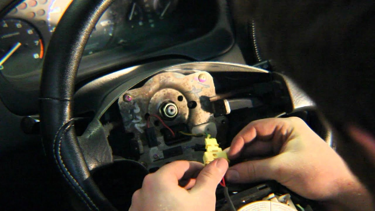 steering wheel remove replace  u0026quot how to u0026quot  honda civic
