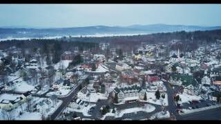 Meredith Bay NH Drone Test