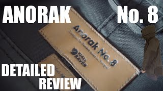 ULTIMATE DETAILED FJALLRAVEN ANORAK NO. 8 REVIEW !!!