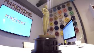 3D Print Oscar Award | Make Mike