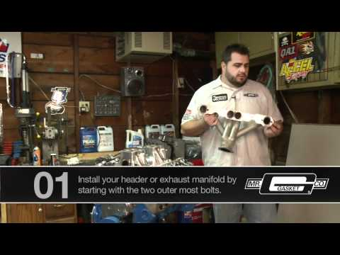 How To Install Mr. Gasket Exhaust Gasket Video - Pep Boys