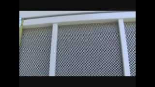 Installing Weatherstripping On A Security Screen Door?...part 1