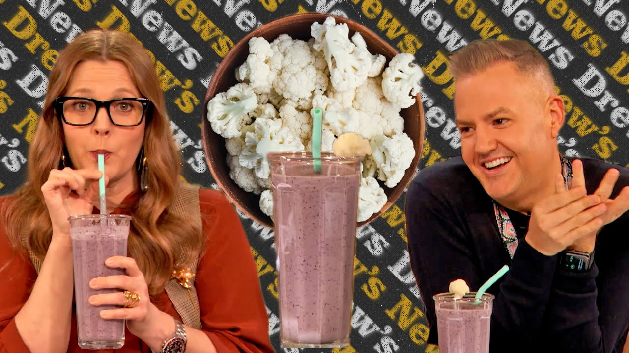 Drew and Ross Are Obsessed with This Cauliflower Smoothie | Drew's News