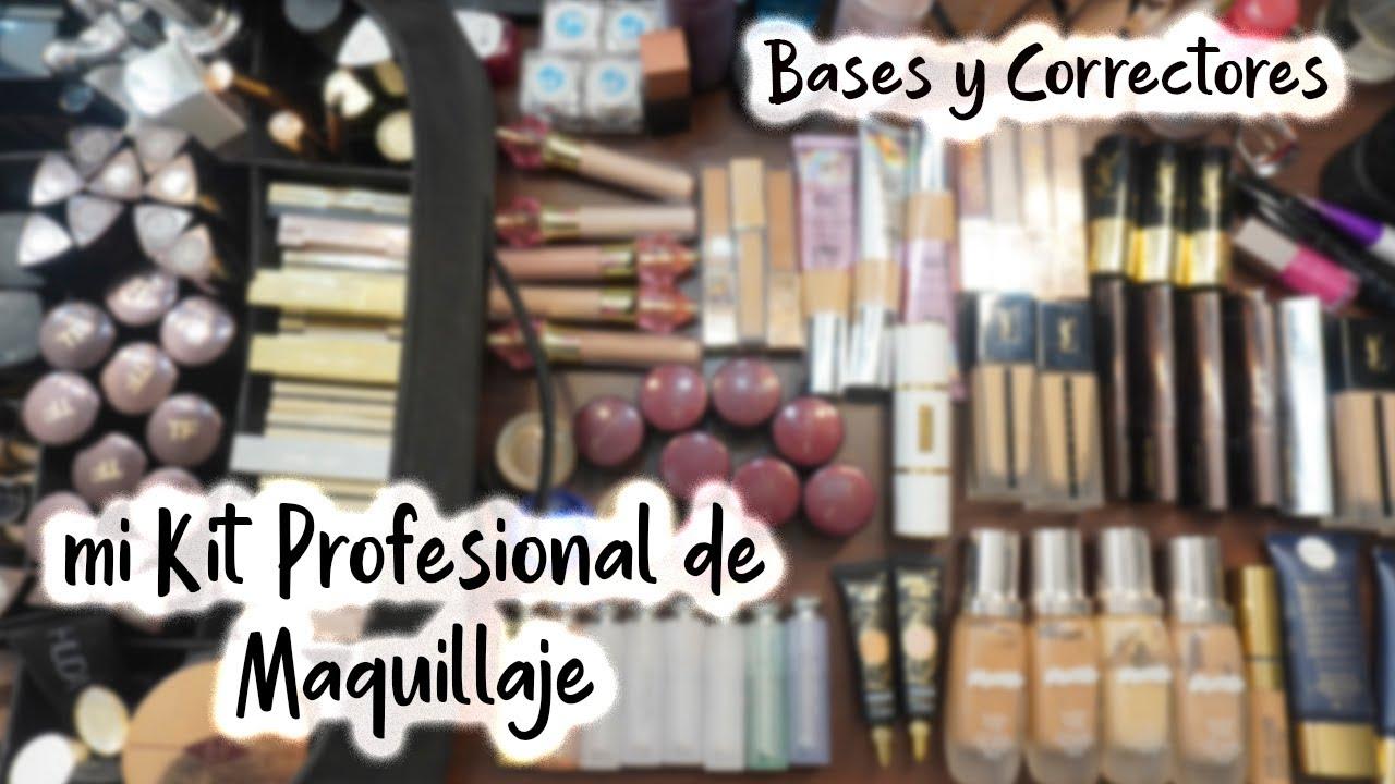 Mi Kit Profesional de Maquillaje - Vol II Bases y Correctores -Pamela Segura