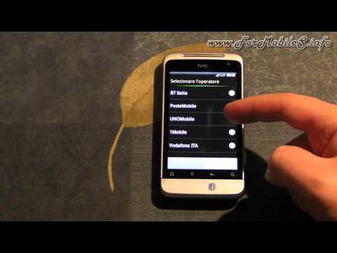 HTC Salsa - Inserimento SIM, microSD, batteria e prima accensione