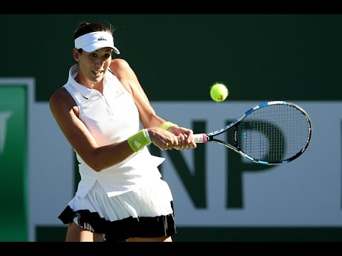 2017 BNP Paribas Open Third Round | Garbine Muguruza v Kayla Day | WTA Highlights