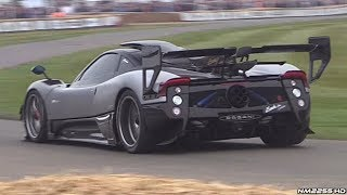 BEST of Supercar Sounds at Goodwood - Zonda, Vulcan, Ford GT, P1 GTR & More!