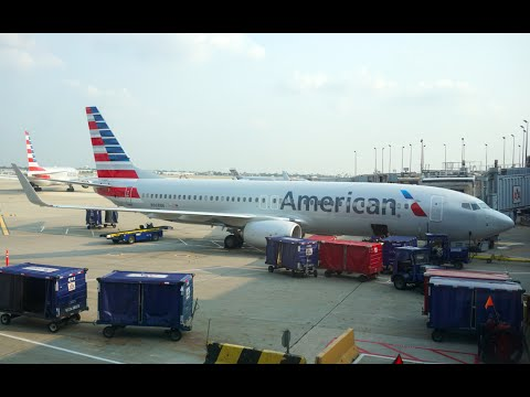 American Airlines FIRST Class - New Interior - 737-800 (SEA-ORD