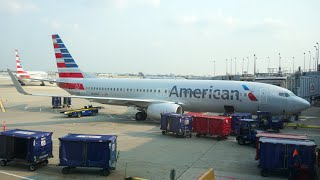 American Airlines FIRST Class - New Interior - 737-800  (SEA-ORD)
