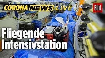 🔴 Bundeswehr fliegt italienische Corona-Patienten ein | Corona-Update