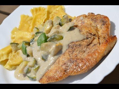 Ravioli Tortellini Chicken Breast Gorgonzola Zucchini Sauce – Sašina kuhinja