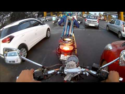 Idiots on road | Don't use phone while driving | Accident in Bangalore