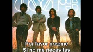 The Doors - Yes, The River Knows (subtitulado)