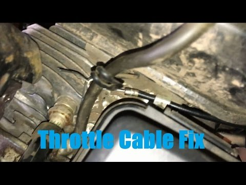 Installing A Throttle Cable On A Predator 212cc Engine