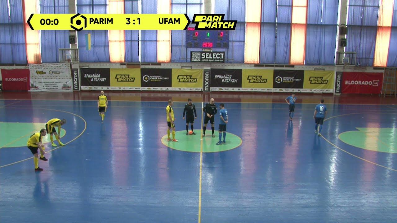 Матч повністю | Parimatch Tech 1 : 4 UFAM 2
