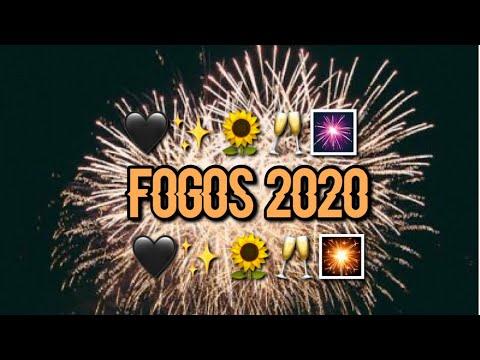 mostrando os fogos de 2020 de cruz alta rs❤️🌈
