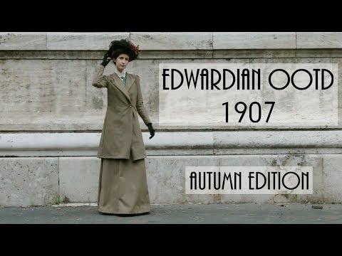 Edwardian OOTD, 1907 - Autumn Edition