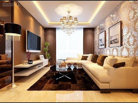 Desaina Wallpaper Ruang Keluarga Mewah Dan Elegan