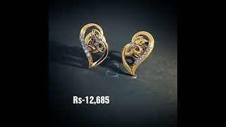 Diamond Ear Studs With lowest Price From Bluestone || lifestyle