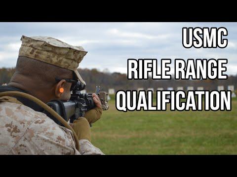 Marine Corps Rifle Range Qualification