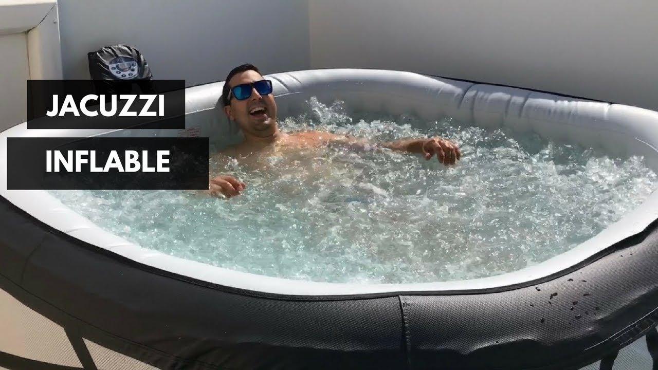 Gil En El Jacuzzi.Compramos Un Jacuzzi Inflable Vlog 5 Alejandro Gil