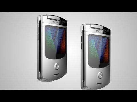 Motorola Razor V3S New Flip Phone - Redesign 2018