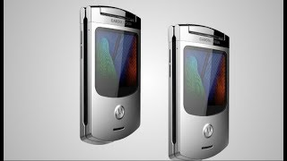 Motorola Razor V3S New Flip Phone - Redesign 2018