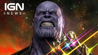 Avengers: Infinity War Release Date Moved Up a Week - IGN News
