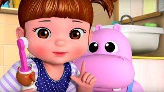 Учимся чистить зубы  - Консуни песенка 7 -  Learns to Brush - Kids Cartoon
