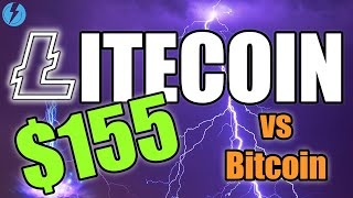 LITECOIN TO $155 & LTC vs BTC