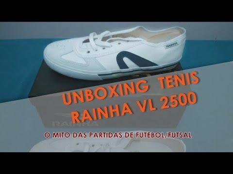 586c10c8079 UNBOXING) TÊNIS RAINHA VL 2500 - O MÍTICO - YouTube