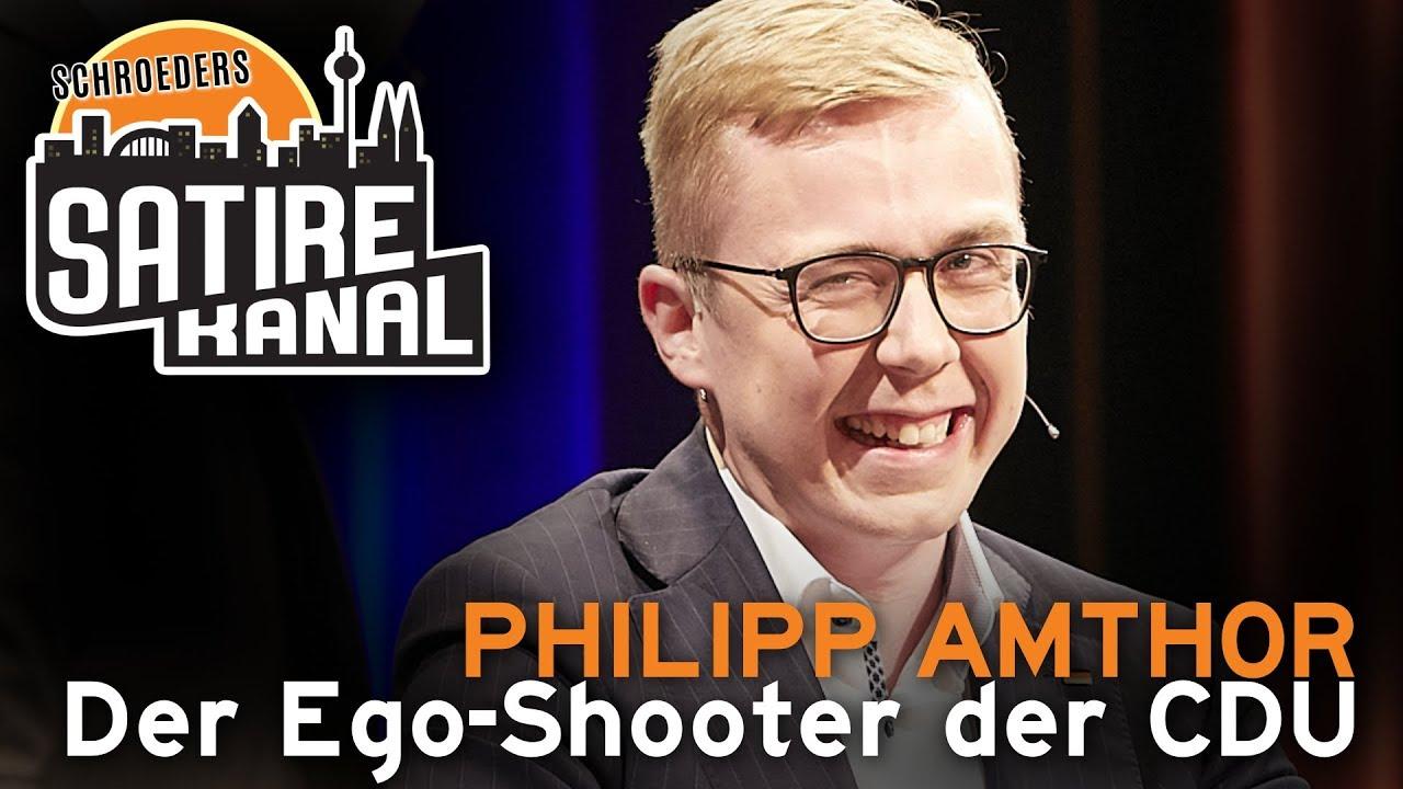 Philipp Amthor Der Ego Shooter Der Cdu Florian Schroeder Schroeders Satirekanal Youtube