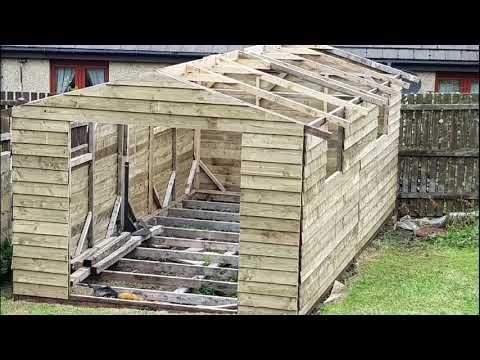 DIY / Zrób to sam / Domek ogrodowy / Garden shed