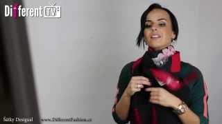 Jak uvázat šátek - 10 zajímavých způsobů!