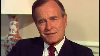 Interview of Vice President Bush on World War II Naval career on June 19, 1986